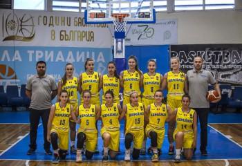 România U16 feminin, la primul eșec la europeanul de la Sofia, divizia B