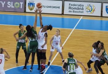 "Brittany Denson, ""monster game"" în finala Cupei României"
