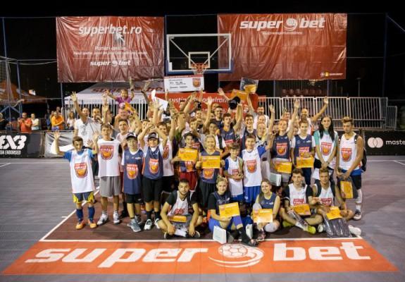 Francezii s-au încoronat campioni la baschet 3x3 în România: Nantes a cucerit Superbet Sport Arena Tour Final