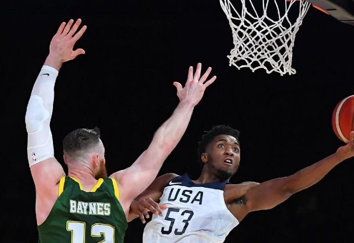 SUA a câștigat amicalul de lux cu Australia la o diferență de 16 puncte