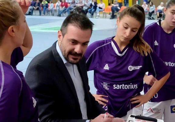 Giannis Koukos, noul antrenor al Universității Cluj-Napoca, după trei sezoane în Germania