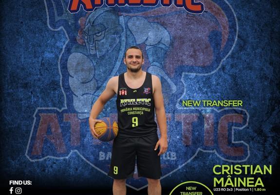 Cristian Mâinea semnează cu Baschet Club Athletic Constanța