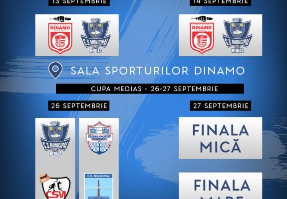 CSM Mediaș a anunțat meciurile amicale din presezon