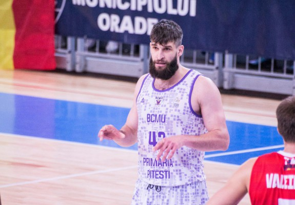 Maksim Sturanovic nu va mai juca în sezonul următor la BCM U Pitești