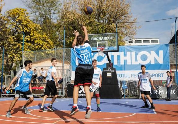 Decathlon Streetball sustinut de Ferratum Money, încă un pas important pentru baschetul 3x3 din România în drumul către Tokyo 2020