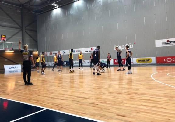 BC CSU Sibiu a pierdut destul de clar amicalul cu Tsmoki Minsk