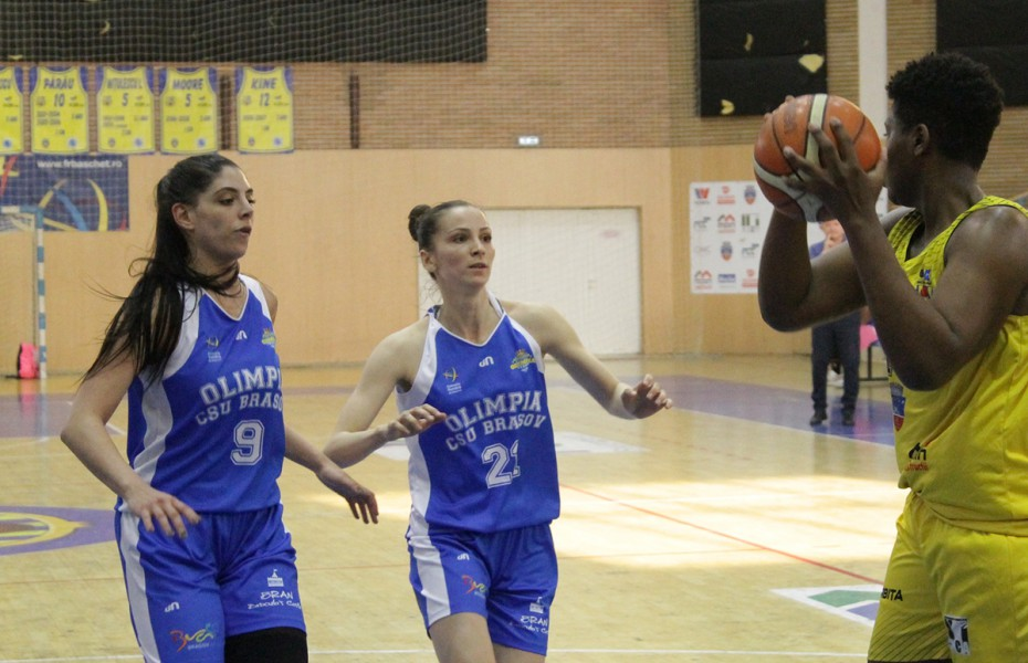 Romina Filip și Amira Al Ash Hab continuă la Olimpia CSU Brașov
