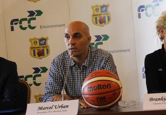 """Marcel Urban: """"La startul acestui sezon nu suntem pregătiți să fim campioni, dar pe parcurs se pot întâmpla multe"""""""