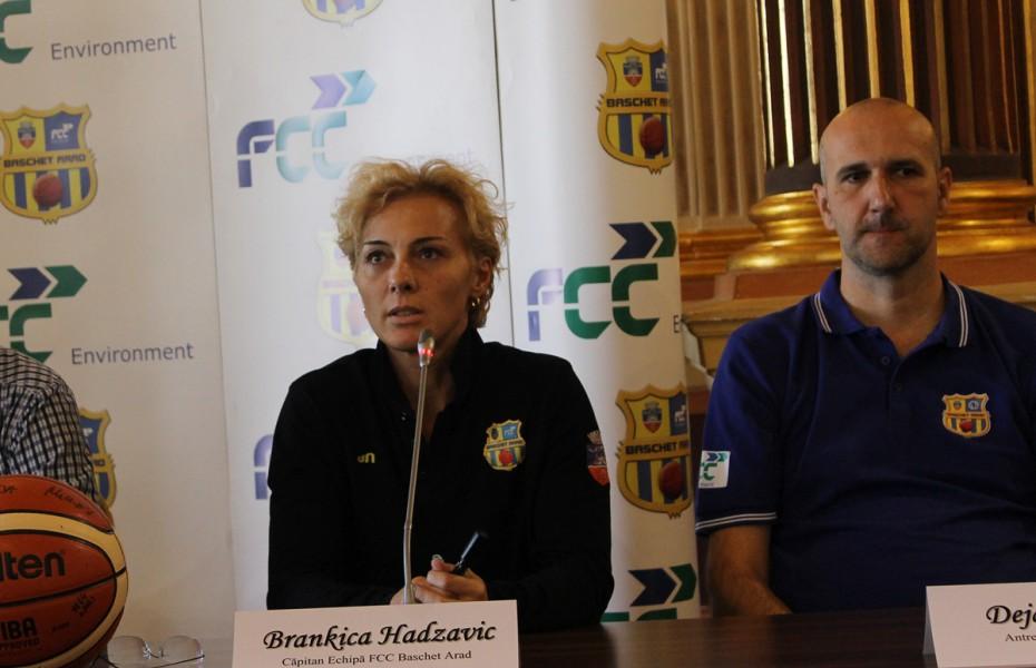 """Brankica Hadzovic: """"Avem o atmosferă foarte bună. Simt că avem deja o chimie bună"""""""