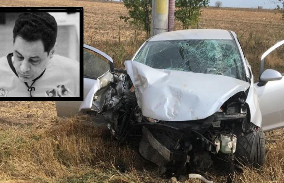 Arbitrul Valentin Negrea a murit într-un accident rutier