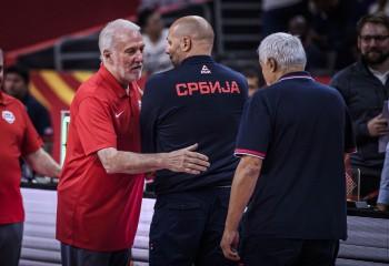 """Gregg Popovich, replică haioasă pentru Sașa Djordjevic: """"Suntem amândoi niște ratați"""""""