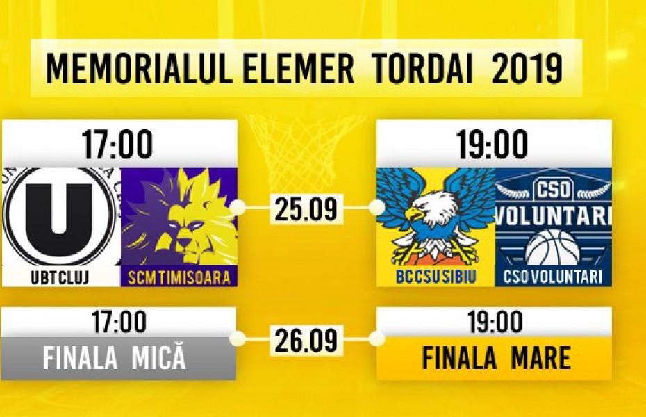 BC CSU Sibiu a anunțat programul Memorialului Elemer Tordai