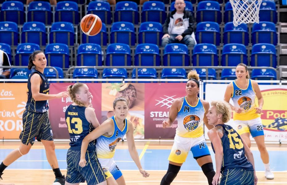 FCC Baschet Arad, la prima înfrângere în amicale, în deplasare cu Piestanske Cajky