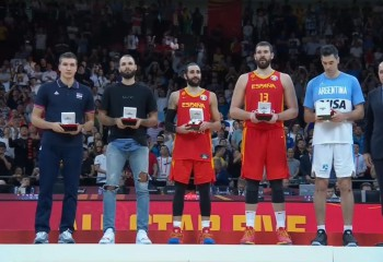 Patru jucători NBA în primul 5 al turneului FIBA World Cup 2019