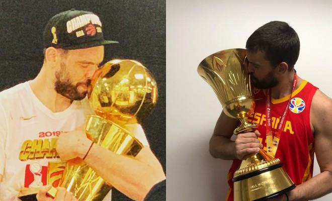 Sezon perfect pentru Marc Gasol: titlu în NBA și campion modial cu naționala Spaniei