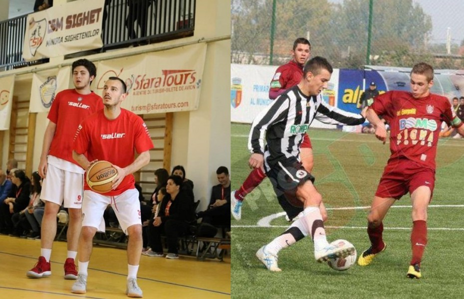 Armand Gavaller, jucător de Liga Națională la CSM Sighetu Marmației, face în paralel și fotbal