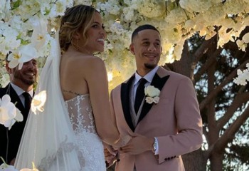 Seth Curry s-a căsătorit cu fiica lui Doc Rivers. Video