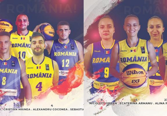 România merge cu o medie de vârstă în jur de 20 de ani la Cupa Mondiala 3x3 U23 din China