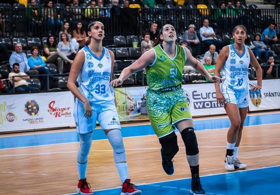 Surorile Zubac au marcat peste jumătate din punctele echipei la debutul pentru Olimpia CSU Brașov