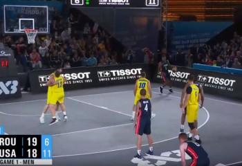 România a învins SUA la mondialul de 3x3 U23 din China și păstrează șanse pentru calificarea în sferturile de finală
