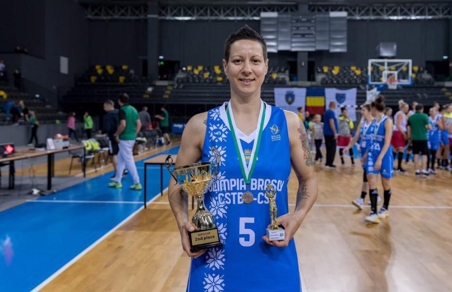 Biljana Pesovic a condus Olimpia CSU Brașov spre victorie cu cele 25 de puncte din etapa a 2-a, grupa Est