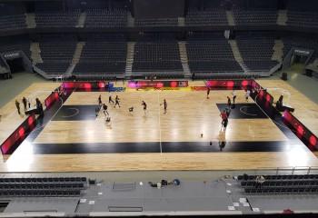 BT Arena din Cluj-Napoca va trece la un parchet modular, similar cu cel din NBA