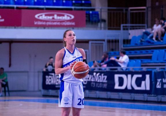 Ruxi Chiș, cea mai experimentată jucătoare din lotul lui CSU Rookies Oradea pentru sezonul 2019-2020
