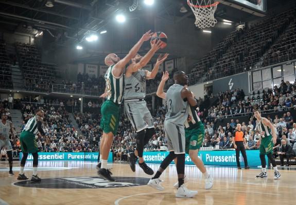 ASVEL Villeurbane a obținut a doua victorie consecutivă în Euroligă