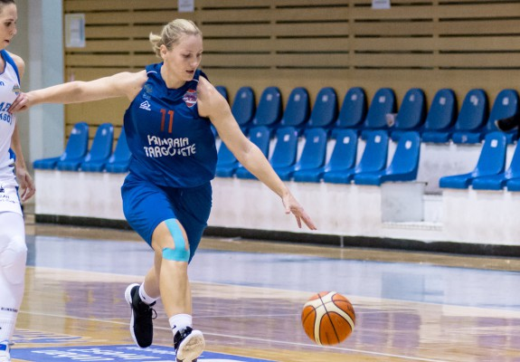 Gabriela Irimia a reușit cea mai bună prestație a sa la CSM Târgoviște, în double-double în victoria cu Agronomia