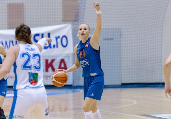 Ancuța Stoenescu, principala marcatoare a lui CSM Târgoviște în partida cu ACS Sepsi SIC