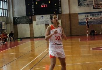 Maja Miljkovic și-a îmbunătățit recordul personal de puncte în LNBF în meciul cu CSU Rookies Oradea