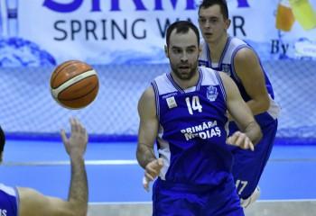 LNBM, Grupa valorică B: Titus Nicoară, double-double de efect în victoria celor de la CSM Mediaș