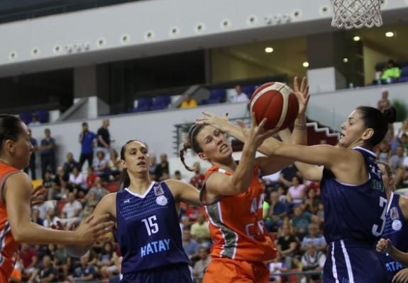Gabriela Mărginean, 31 de puncte în prima etapă a campionatului Turciei