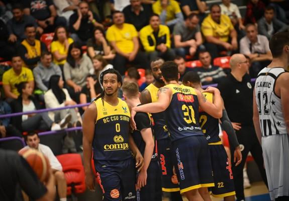 BC CSU Sibiu caută prima victorie a sezonului în fața celor de CSA Steaua București