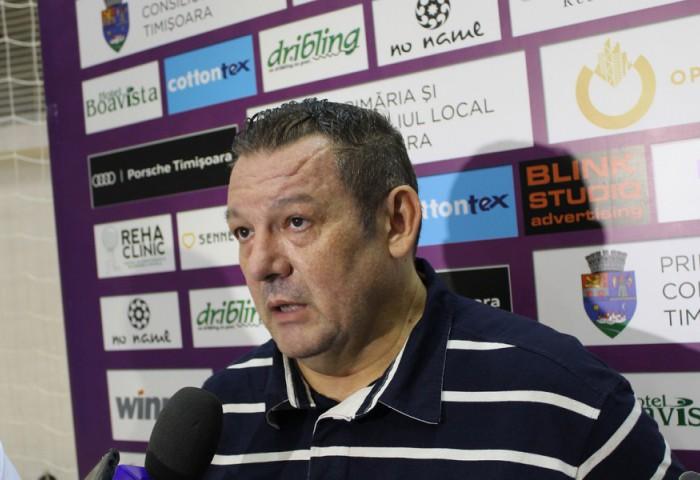 """Dragan Petricevic: """"Consider că putem vorbi despre două lucruri, victorie meritată și că mai avem de muncit"""""""