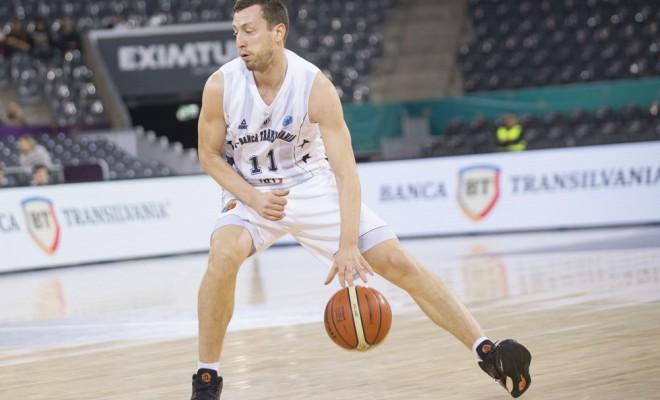 Andrei Calnicenco a fost din nou cel mai eficient jucător autohton