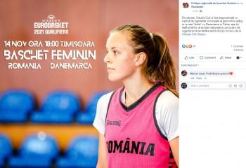 Ecaterina Armanu, convocată de urgență la naționala României