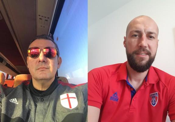"""Dragan Petricevic, mesaj pentru Cătălin Burlacu înaintea meciului din Capitală: """"Tata e pe drum"""""""