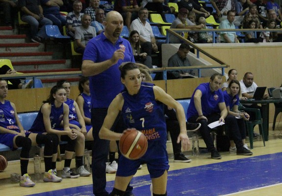 Alina Chivu și-a stabilit un nou record personal în LNBF în victoria lui CSM Târgoviște de la Brașov
