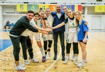 Agronomia București, câștigătoarea Cupei României 3x3 feminin, ediția 2019