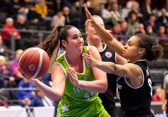 Natalie Butler, la primul double-double european pentru ACS Sepsi SIC Sfântu Gheorghe