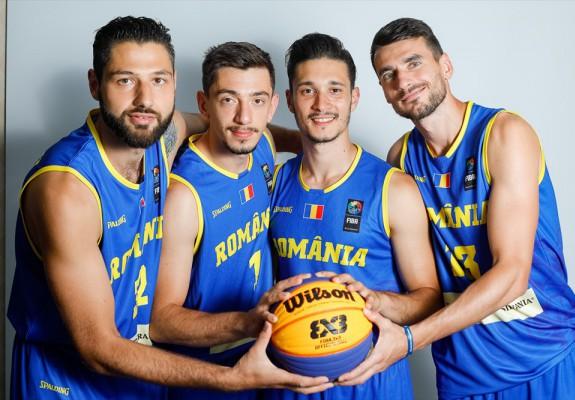 Echipa masculină 3x3 a României, pe lista de așteptare pentru precalificările Tokyo 2020