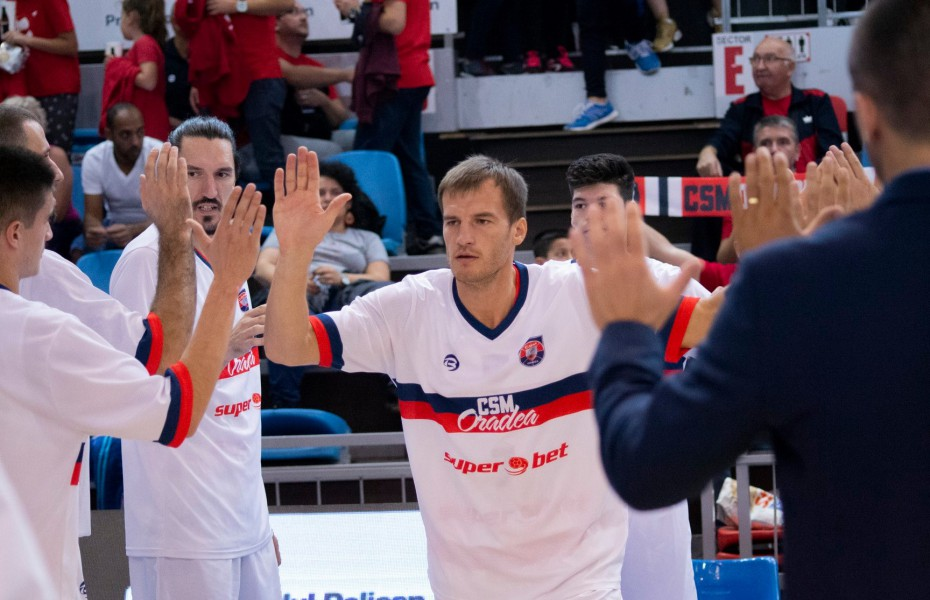 Arturas Valeika, la primul double-double din acest sezon în partida cu BCM U Pitești