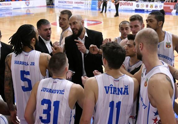 Catalin Burlacu lipsește de pe banca Stelei în meciul cu Craiova