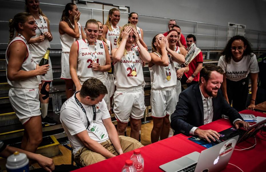 Danemarca a avut nevoie de donații pentru a participa în calificările la Women's Eurobasket 2021