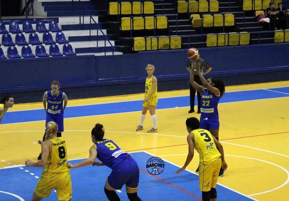 România a jucat un meci de pregătire cu FCC Baschet Arad cu două zile înainte de cel cu Danemarca