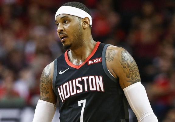 Carmelo Anthony a revenit în NBA