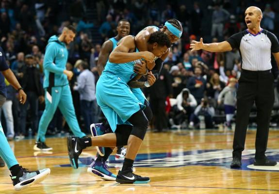 Malik Monk aduce victoria pentru Hornets în fața lui Detroit Pistons. Video