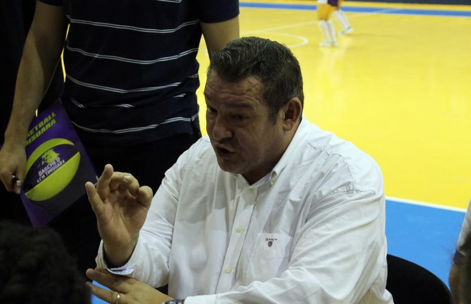 """Dragan Petricevic: """"Ne-au învins pe jocul individual 1 la 1, nu prin ceva ce ne-a surprins"""""""