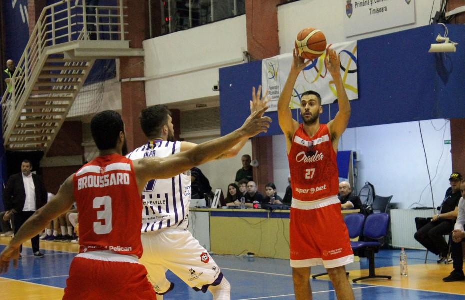 Dragan Zekovic, la cea mai bună prestație a sa în acest sezon pentru CSM CSU Oradea